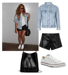 """Untitled #3"" by merima-p ❤ liked on Polyvore featuring Topshop, Mason by Michelle Mason, Converse and 3.1 Phillip Lim"