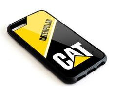 Caterpillar Logo iPhone X 5s 5c 6 6s 7 8 Plus Hard Plastic Case #UnbrandedGeneric