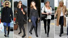 Shop Look-Alikes Of Stuart Weitzman's Stretch-Back 50/50 Boots Starting At $75