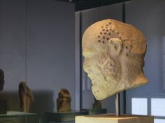 The head of the Acropolis' Museum. - Athens, Attiki