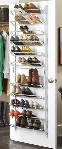 Shoe storage ideas for small closets over the door shoe rack diy shoe storage ideas easy