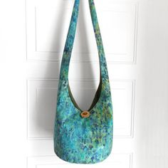 Hobo Bag Crossbody Bag Hippie Purse Sling Bag Hobo by 2LeftHandz