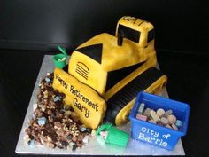 A Busch Systems recycling bin has never looked so delicious!