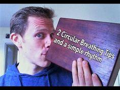 Didgeridoo Lesson - 2 Circular Breathing Tips and a Rhythm - YouTube