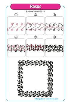Rasuc pattern | Zentangle