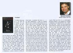 """""""O Melhor filme de 2012"""" artigo publicado no Jornal """"Briefing""""."""