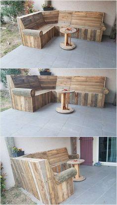 DIY - Eigenes Holz-Sofa für den Garten!
