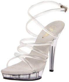 Pleaser Women's Lip-106/C/M Platform Sandal