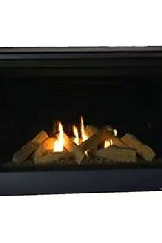 Primary fireplace for entry-level homes Convert to a contemporary look now or later. Pre-wired for wall switch. Switch not included. Top or Rear venting ordered separate to BTU's burning Natural Gas