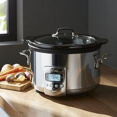 All-Clad ® 4 qt. Slow Cooker   Crate and Barrel