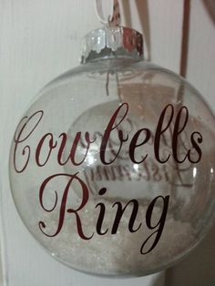 Mississippi State Cowbells Ring Are You Listening by PrettyParfait