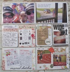 Whew, it's been a while since I shared some Project Life pages. I'm back today with Week 15. Here's my 2 page spread.  This week we were ...