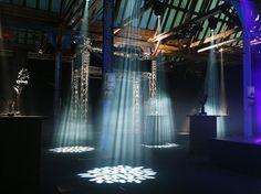 Lichteffecten in De Rijtuigenloods