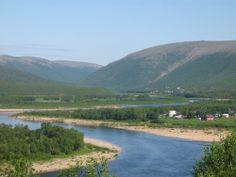 The sapmi village of Dálvadas and River Tenojoki, Lapland Finland - Tenojokilaakson saamelaisasutus, Dálvadaksen kylä, Utsjoki - Photo: matkustava_kissa