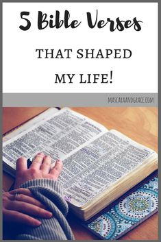 These bible verses have impacted my Christian walk greatly. Some help me muddle through the bad times, some help me live out my faith, and others help me keep my eyes on the big picture.