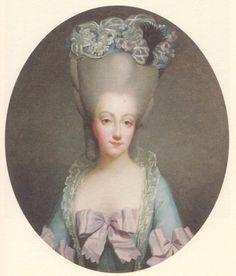 ca. 1780 Comtesse de Provence by Rosalie Filleul
