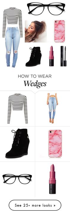 """""""Hangin with friends?? Try this out!"""" by nik-mill on Polyvore featuring Miss Selfridge, MICHAEL Michael Kors, Bobbi Brown Cosmetics and EyeBuyDirect.com"""