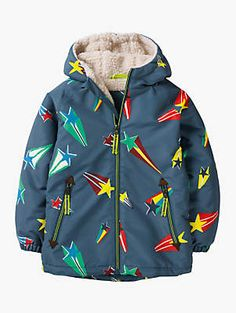 419caa9dc7 Mini Boden Boys  Sherpa Lined Anorak