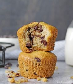 These scrumptious Paleo Chocolate Chip Muffins are simple to make, and ready to devour in less than thirty minutes. A fresh-baked, tender, chocolatey muffin that's healthy and satisfying.