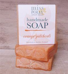Orange & Patchouli Handmade soap