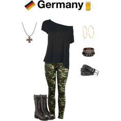 """Hetalia Casual Wear: Germany"" by katelinhays on Polyvore"