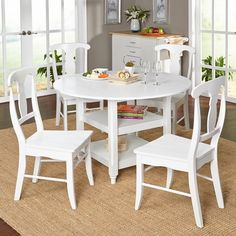 Simple Living Cottage 5-piece Dining Set - Overstock™ Shopping - Big Discounts on Simple Living Dining Sets