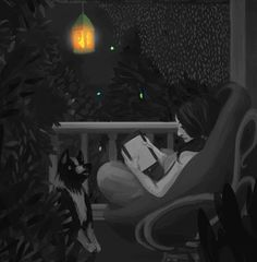 Animated gif uploaded by Sandinyourpants. Find images and videos about summer, gif and art on We Heart It - the app to get lost in what you love. Art And Illustration, Art Mignon, Reading Art, Woman Reading, Reading Nook, Aesthetic Art, Cartoon Art, Cute Art, Art Girl