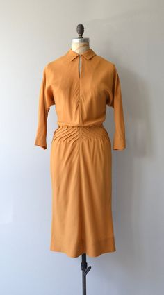 Claire McCardell dress | vintage 1950s dress | designer vintage 50s dress