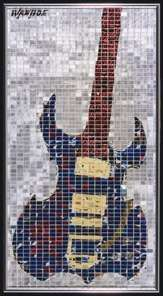 Recyled Can Mosaics : jeff ivanhoe