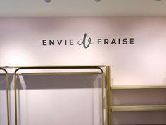 Enseigne Envie de Fraise Paris Decoration, Paris, Mirror, Furniture, Home Decor, Glass Display Case, Decor, Montmartre Paris, Decoration Home