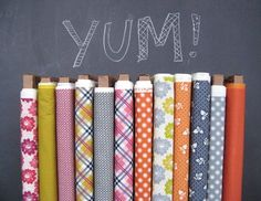 Fabric wants, fabric got! Aunt Edna by Denyse Schmidt Quilts, now available at JoAnn's