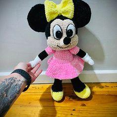 Disney Crochet Pattern Minnie & Mickey Mouse Amigurumi | Etsy