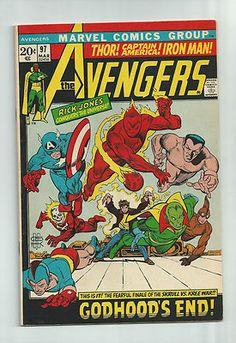 AVENGERS #97 Bronze Age gem! The Kree/Skrull war continues! GRADE 8.5 http://r.ebay.com/nD3C7k