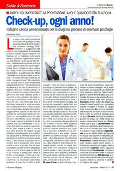 Check-up, l'importanza della prevenzione ☆ su www.vincenzopitaro.it/Archivio.htm