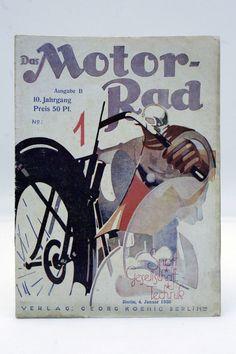 Zeitschrift ¨DAS MOTORRAD¨ Jahrgang 1930 / 5x / Oldtimer / Motorcycle / D in…