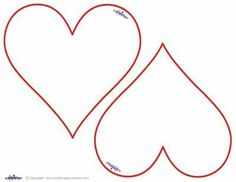 9 Best Heart And Tag Templates Images Applique Patterns Appliques