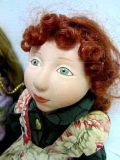 Genevieve with her hair pulled back.  Cloudland Doll by Shelley Thornton sa6486103116-az.jpg (338×450)