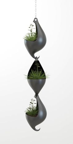 Hookie's Hanging Planter Design Joins Up with Other Planters #modern #design trendhunter.com
