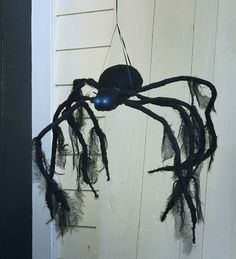 Halloween Large Hanging Spider with Lights and Motion