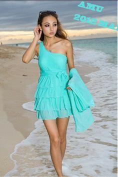 31c159a7dcf51 Free shipping! 2013 swimwear one shoulder swimwear women one piece dress  piece set sunscreen mantillas swimwear female hot sale-inOne Pieces.
