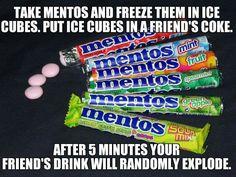 Frozen Mentos