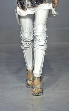 Robot leggings byBalenciaga. //