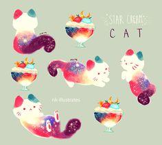 Star Cream Cat