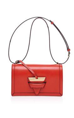 Barcelona Shoulder Bag In Red by Loewe for Preorder on Moda Operandi