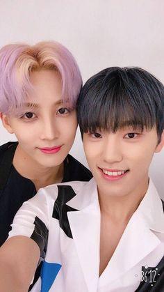 Seventeen Dino and Jeonghan // Dino, whose baby are you? // Dino, nugu aegi? // 디노 누구 애기?