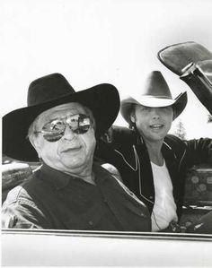 Buck Owens and Dwight Yoakam.