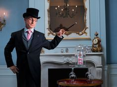 Magic show at the Waldorf Astoria- cocktail attire required