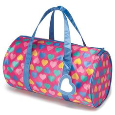Good times are in the bag when she carries this fun duffle. Features a heart-shaped tag for personalization. Regularly $12.99, buy Avon Kids products online at http://eseagren.avonrepresentative.com