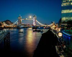 Full Moons over Tower Bridge | Tower Bridge; Sir Horace Jones, John Wolfe Barry. 1894