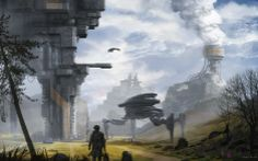 Suprise inspection by Alwyn Talbot | Sci-Fi | 2D | CGSociety